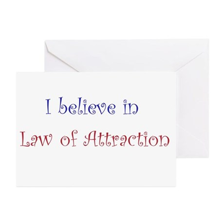 Law of Attraction Greeting Cards (Pk of 10)