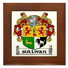 Sullivan Coat of Arms Framed Tile