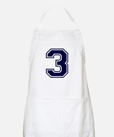 NUMBER 3 FRONT BBQ Apron