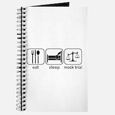Eat Sleep Mock Trial Journal