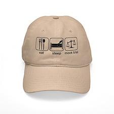 Eat Sleep Mock Trial Baseball Cap