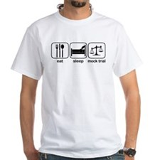 Eat Sleep Mock Trial Shirt