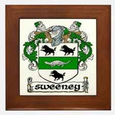 Sweeney Coat of Arms Framed Tile