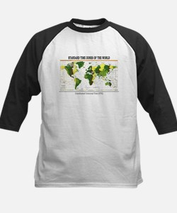 World Time Zone Map Tee