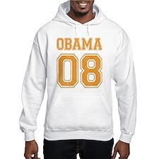 Team Obama 08 halloween orange Hoodie