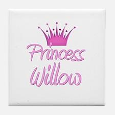 Princess Willow Tile Coaster
