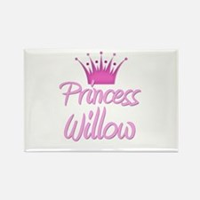 Princess Willow Rectangle Magnet