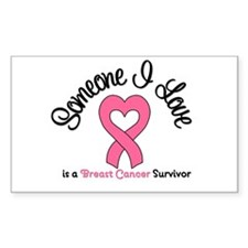 Someone I Love (BC) Rectangle Decal