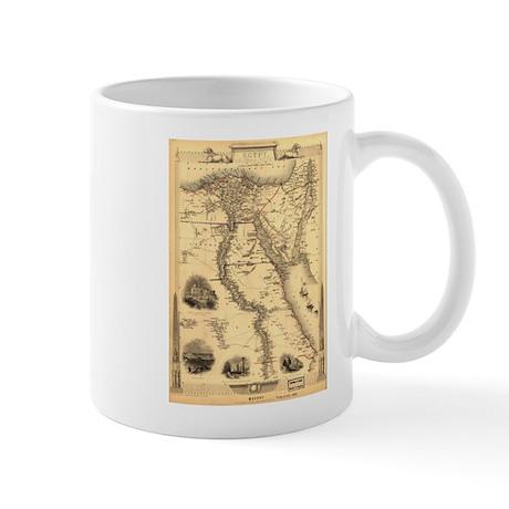 Ancient Egypt Map Mug