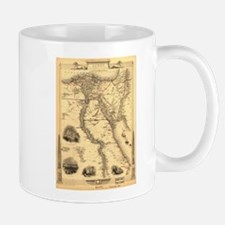 Ancient Egypt Map Mug