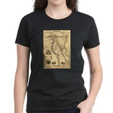 Ancient Egypt Map Tee
