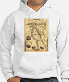 Ancient Egypt Map Hoodie