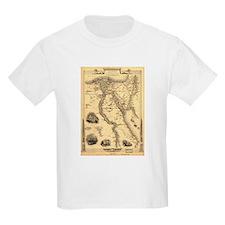 Ancient Egypt Map T-Shirt