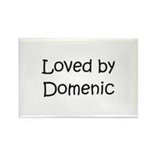 Cute Love domenic Rectangle Magnet