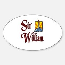 Sir William Oval Decal