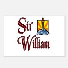 Sir William Postcards (Package of 8)