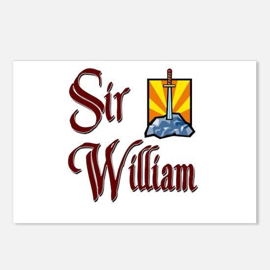 Sir William Postcards (Package of 8)