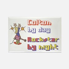 Colton - Rockstar by Night Rectangle Magnet