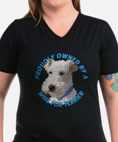 Proudly Owned Wire Fox Terrier Shirt