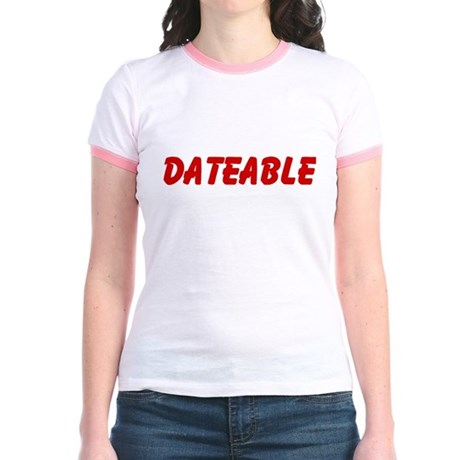 dateable Jr. Ringer T-Shirt