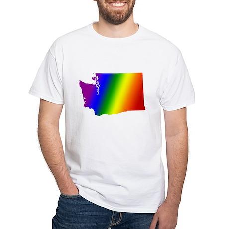Washington Pride<BR> White T-Shirt