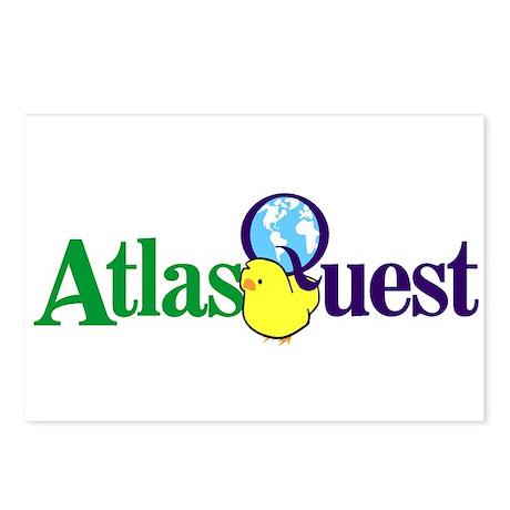 Atlas Quest Postcards (Package of 8)