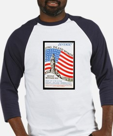 WWII Home Defense Baseball Jersey