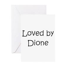 Cute Dion Greeting Card