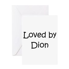 Unique Dion Greeting Card