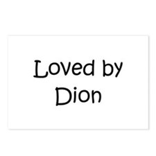 Funny Dion Postcards (Package of 8)
