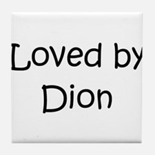 Cute Dion Tile Coaster