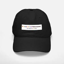 Homo not Hetero Baseball Hat