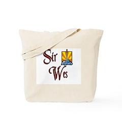 Sir Wes Tote Bag