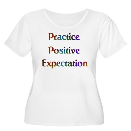 Practice Expec #573 Women's Plus Size Scoop Neck T