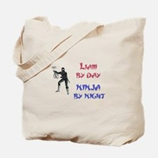Liam - Ninja by Night Tote Bag