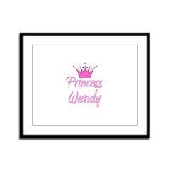 Princess Wendy Framed Panel Print