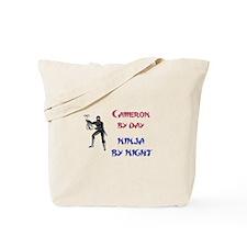 Cameron - Ninja by Night Tote Bag