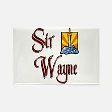 Sir Wayne Rectangle Magnet