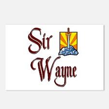 Sir Wayne Postcards (Package of 8)