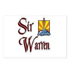 Sir Warren Postcards (Package of 8)