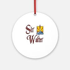 Sir Walter Ornament (Round)
