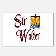 Sir Walter Postcards (Package of 8)