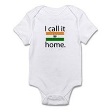 I Call It Home (India Flag) Onesie
