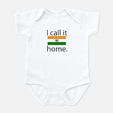I Call It Home (India Flag) Onesie