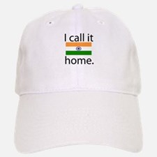 I Call It Home (India Flag) Baseball Baseball Cap