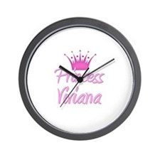 Princess Viviana Wall Clock