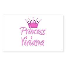 Princess Viviana Rectangle Decal