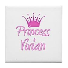 Princess Vivian Tile Coaster