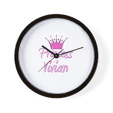 Princess Vivian Wall Clock