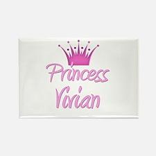 Princess Vivian Rectangle Magnet